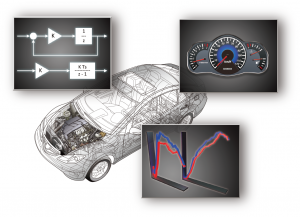 モデルベース開発で必要なCAEによる要求分析、制御設計(制御対象モデル、制御モデル)、検証設計(MILS、HILS)をサポートいたします。